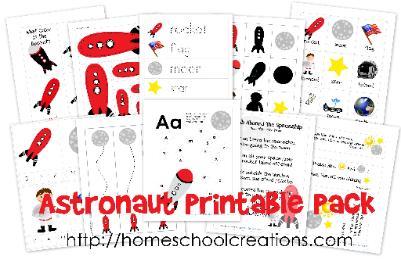 http://homeschoolcreations.com/AstronautPrintables.html