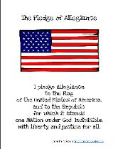 picture regarding Pledge of Allegiance Printable known as Homeschool Creations ~ Preschool Science