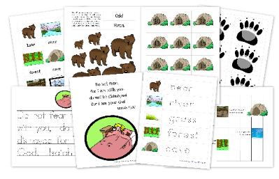 Going on a Bear Hunt FREE Printables and Crafts