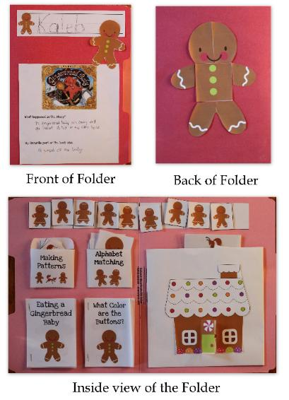 Gingerbread Baby Lapbook